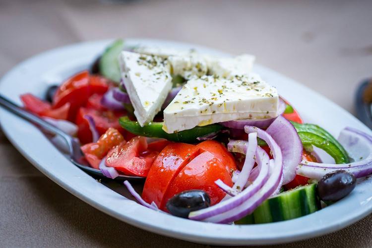 olives and feta
