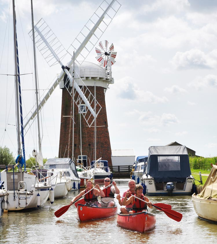 Culture and heritage in the Broads - Horsey Mill