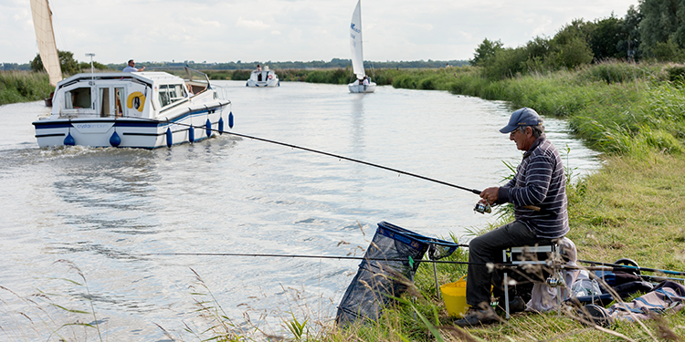 angling in the broads