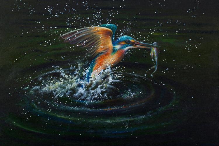 Kingfisher by Lorraine Auton (Studio Art Gallery)